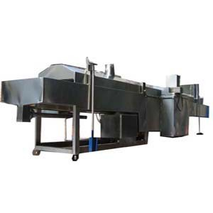 Continuous / Second Frying Machine - Continuous/Second Frying Machine