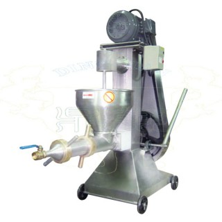 Meat Grinder with Filter Pipe - Filter Machine