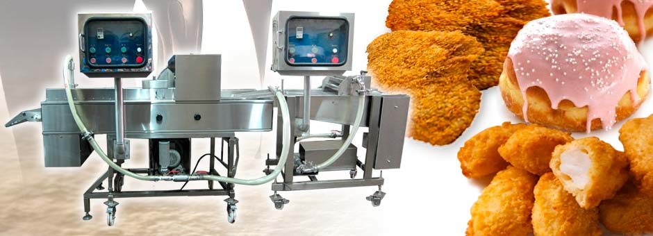 Batter & Crumb Coating Machine